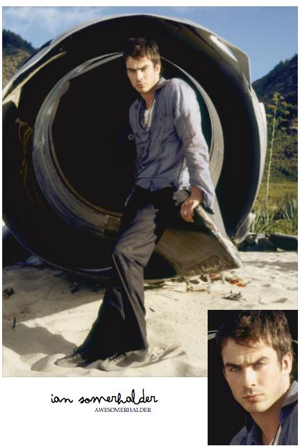 Photoshoot promotionnel de Lost.