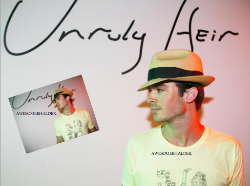 Ian Somerhalder in Unruly Heir Spring/Summer 2008 Shoot ♥