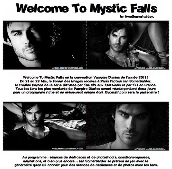 Convention : Welcome to Mystic Falls.