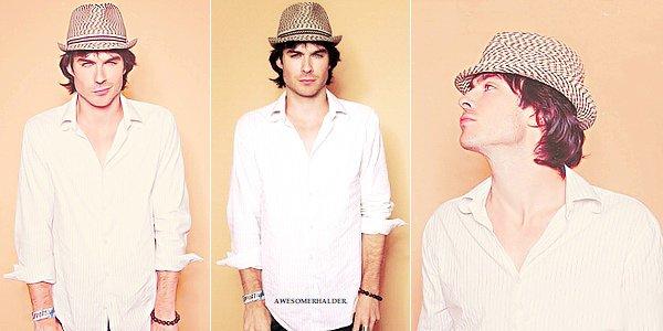 P H O T O S H O O T | Voici le photoshoot intégral du Comic Con 2011 réalisé par TV Guide où l'on voit Ian, Paul, Nina, Candice & Joseph. J'adore, ils sont tous rayonnants !