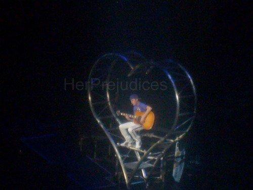 29 mars ; Justin à Bercy.