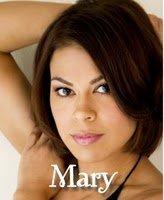 Voici Mary...