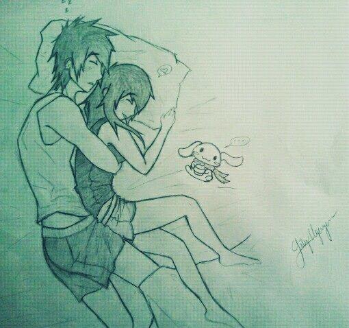 J'ai envie de m'endormir a tes cotés...