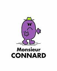 Monsieur connard!