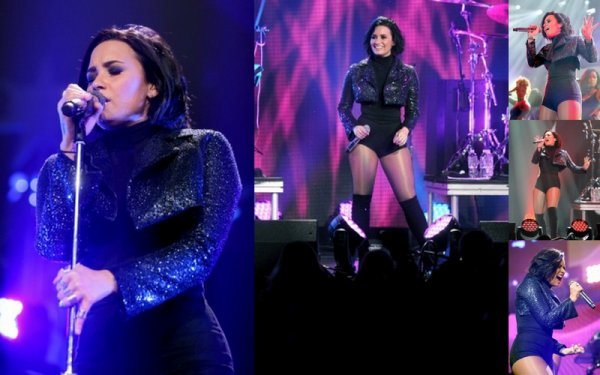 7 Decembre : Demi Lovato au Jingle Ball Festival a Saint Paul, Minnesota