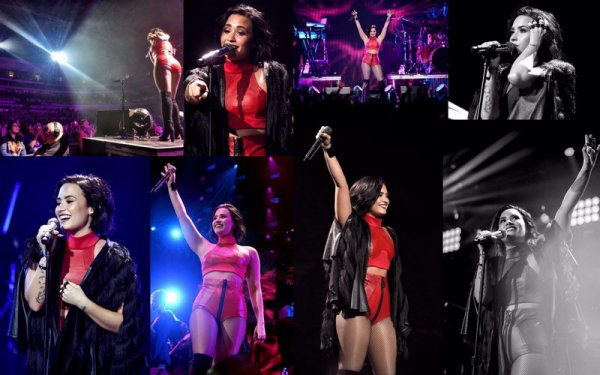 1er Decembre : Demi Lovato sur le tapis rouge du Jingle Ball Festival au Texas  :