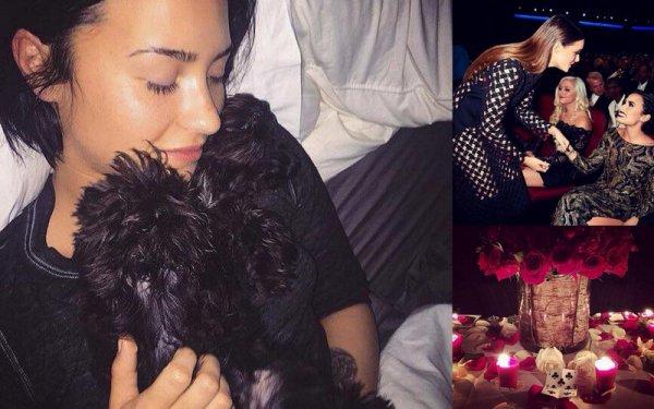 28 Novembre : La belle Demi à étais vue au restaurant accompagné de son cheri Wilmer a Los Angeles :