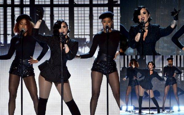 22 Novembre : La magnifique Demi Lovato au AMA's ! :