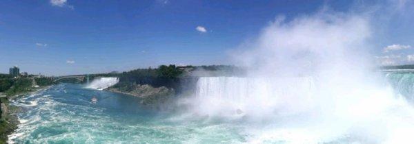 Une partie du voyage au cabafa Montréal et Niagara falls