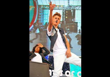 Justin Bieber : un vrai petit trouillard !