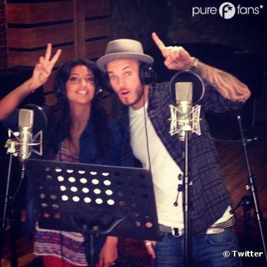 M. Pokora et Tal : les deux stars en studio pour un duo ! La preuve en photo !