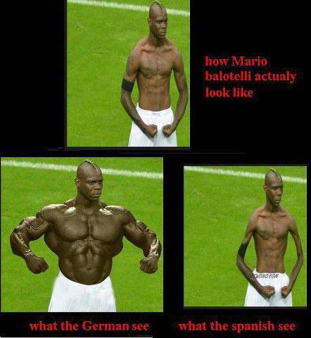 3 baloteli different selon le pays