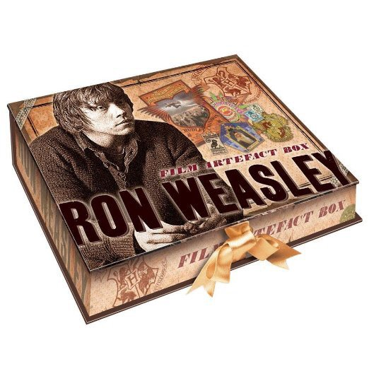 Boite d'artefact Ron Weasley - Harry Potter