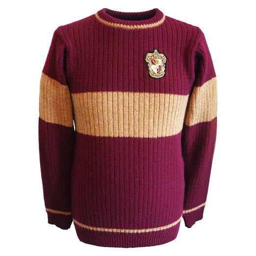 Pull Quidditch Gryffondor - Harry Potter