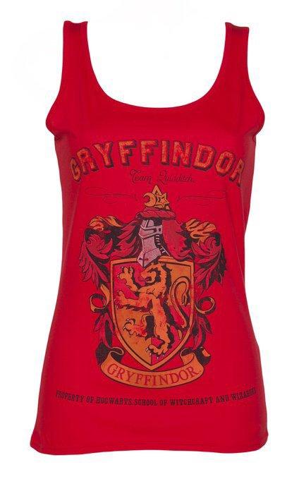 Debardeur Gryffondor Femme - Harry Potter