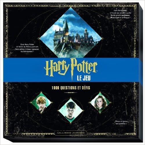 Livre de jeu HP : 1 000 questions et defis