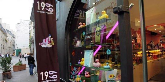 """Le """"love-shop"""" de la rue Saint-Martin à Paris devra fermer"""