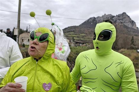A Bugarach, les extraterrestres sont bien là