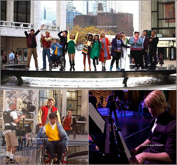 """. ★ 26/05/2011 : De superbes photos prise pendant le tournage de l'épisode 2x22 """" New York. """" ."""