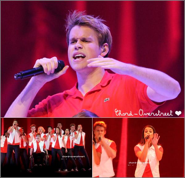 ♦ Glee : Le glee live tour 2011 reprend, le 2 juin c'était à Minneapolis ! On voit bien Chord cette fois-ci !
