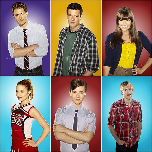 ♔ Divers. Parmi les 9 personnages de glee, qui est ton préféré ? Pourquoi? (article divers car il n'y a pas de news depuis 2 jours.)