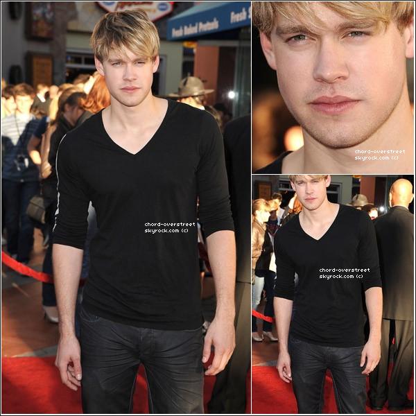 . ● Chord était à la première du film«Real Steel», à Los Angeles, le 3 octobre 2011. Top ou flop ? .