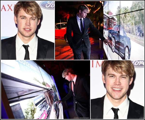 .   Chord s'est rendu au  Maxim Late Night Party With Ford Mustang Customizer le 26 février.  .