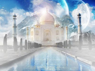 Taj Mahal symbol of love
