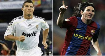 ROnaldO&Messi