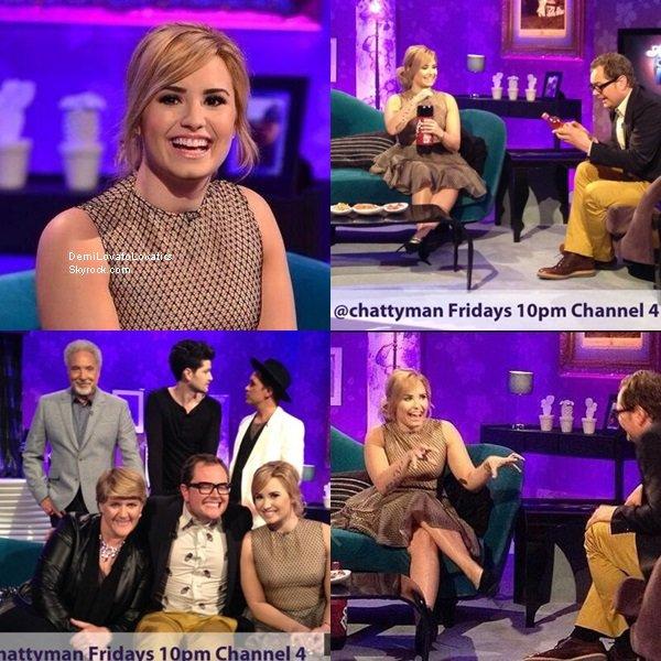 30/05/2013 :  Demi à chanter Heart Attack sur le plateau de Britain's Got Talent Top/Flop ?