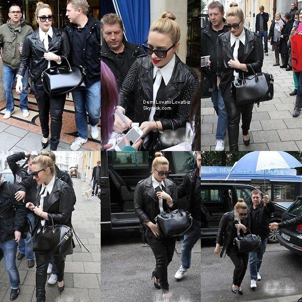 03.06.2013 : Demi arrivant à Munich, Allemagne Top/Flop ?