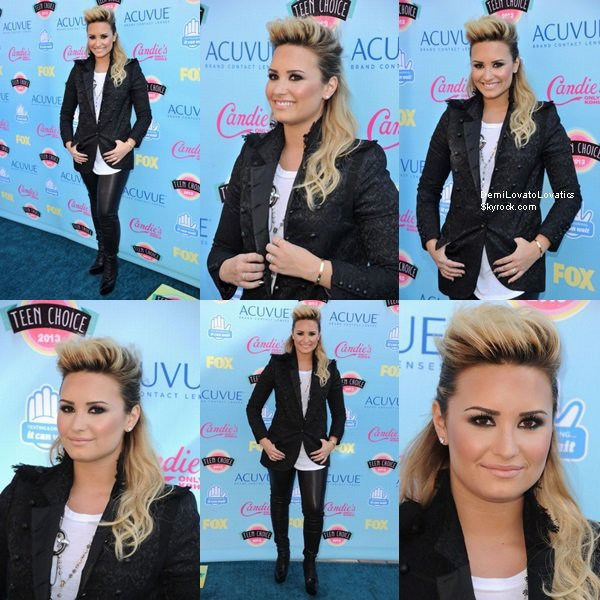 11/08/2013 : Teen Choice Awards 2013 Tapis Rouge, Los Angeles Top/Flop ?