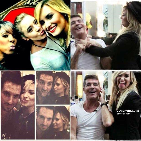 06/09/2013 Les amis de Demi lui ont organisés une fête suprise pour anniversaire Top/Flop ?