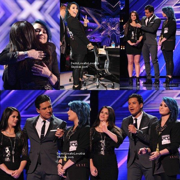 21/11/2013 The X Factor Live Show (Kahya, candidate de Demi, à quitter la compétition) Top/Flop ?