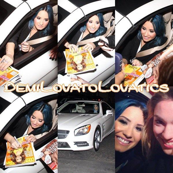 25/11/2013 Demi arrivant aux studios de Jimmy Kimmel Live Top/Flop ?