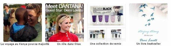 Demi Lovato en 2013 c'est...