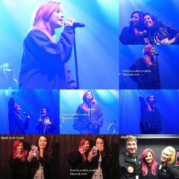 23/03/2014 The Neon Lights Tour : Charlotte, Caroline du Nord Top/Flop ?