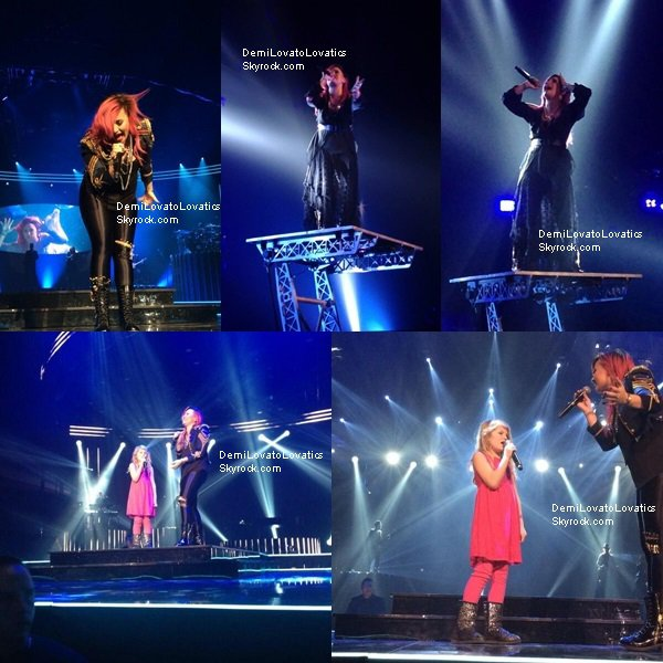 11/03/2014 The Neon Lights Tour : Uniondale, New York Top/Flop ?
