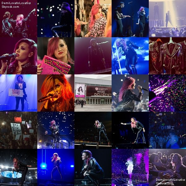 18/03/2014 The Neon Lights Tour : St.Paul, Minnesota Top/Flop ?