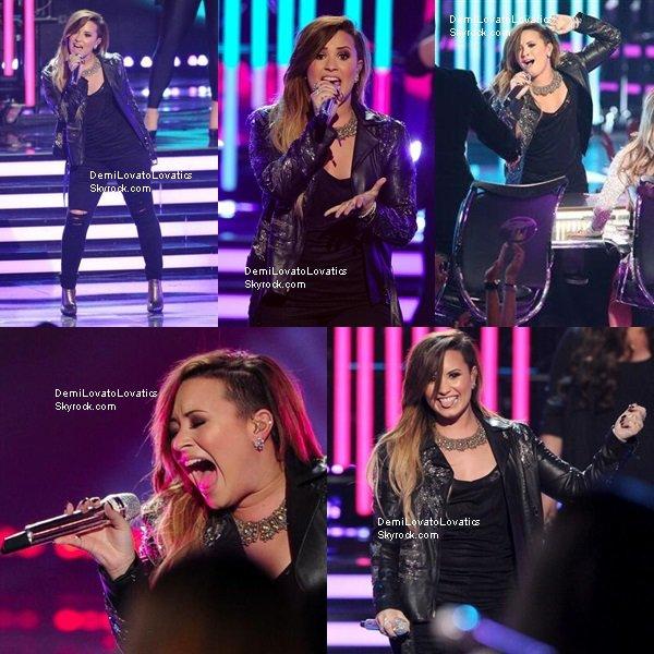 21/05/2014 Sur le plateau de American Idol Top/Flop ?