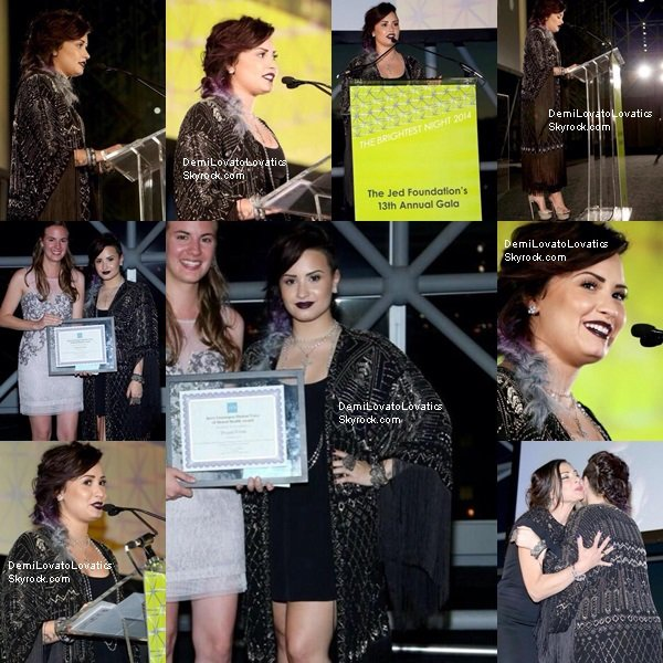 04/06/2014 Demi arrivant au Latina's 2014 Fun Fearless Awards, New York Top/Flop?