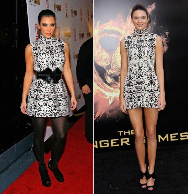 Kim Kardashian vs Kendall Jenner
