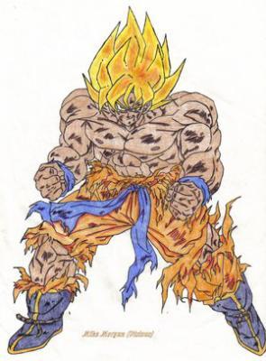 Goku Dbzz En F0rcee