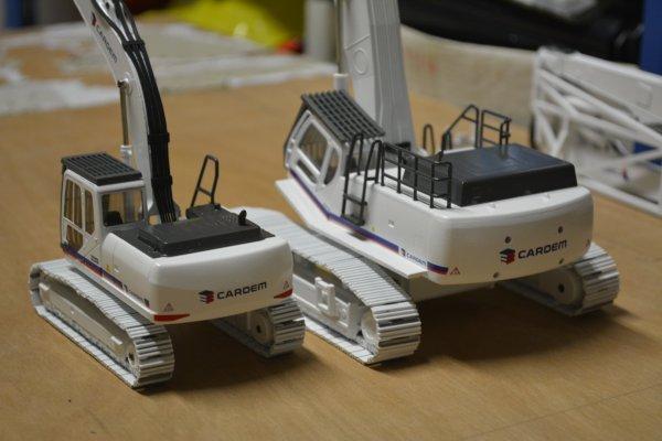 Cardem - Case CX250 et CX800