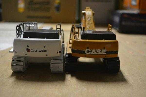 Cardem - Case CX800 et CX800