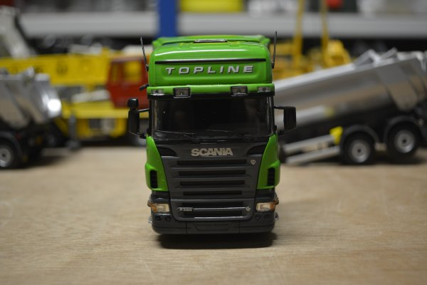 """Scania R580 V8 """"vert"""""""