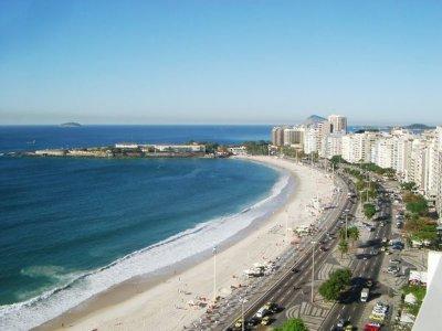 Rio de Janeiro: la plage de Copacabana