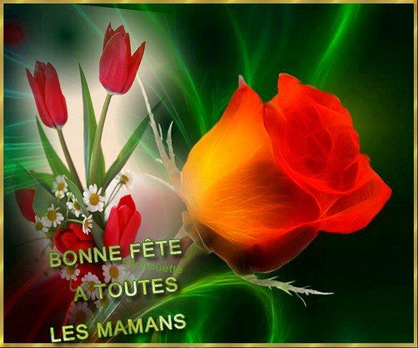 ✿♥❀♥❁ BONNE FÊTE A TOUTES  LES  MAMANS   ✿♥❀♥❁
