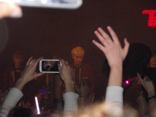 Quel Que Photo du Concert Teen Top
