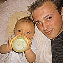 mon fils et mois